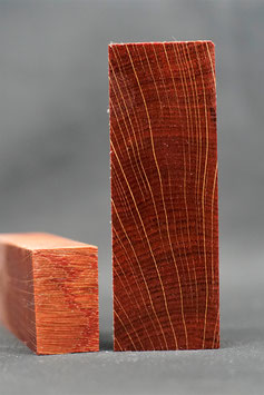 Raffir - Stabilisierte Eiche - ROT
