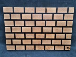 Schneidbrett Brickwall - Stirnholz 4