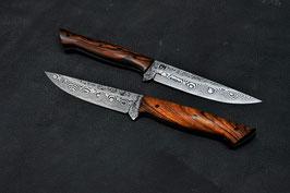 Traditionell österreichisches Jagdmesser, 100 Lagen Damast