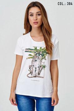 CATNOIR T-Shirt (6570-10/ 304 weiß)