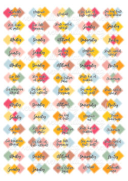 Stickerbogen Download #114