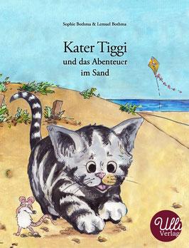 Bilderbuch  Kater Tiggi und das Abenteuer im Sand