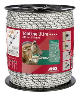 TopLine Ultra Weidezaunseil - 300m - 5,50mm