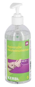 Hygienische Händedesinfektion 500ml