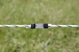 Seilverbinder Litzclip® für Ø 6 mm Seile Edelstahl (INOX) - 5 Stück