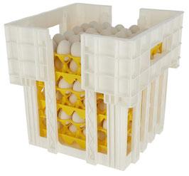 Halterung und Stapelung für Eieraufbewahrung