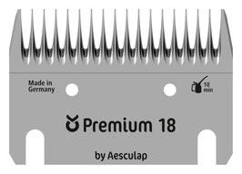 Schermesser-Set Premium, Rind, 18/17 Zähne