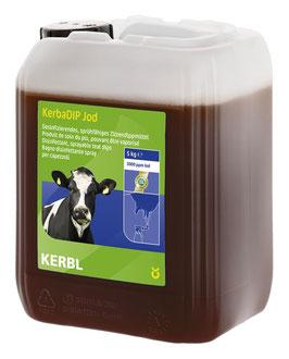 KerbaDip Jod * Desinfizierendes, sprühfähiges Zitzendippmittel auf Jodbasis