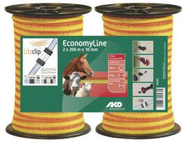 EconomyLine Weidezaunband Doppelpack