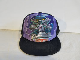 90's Krylon graff rat purple