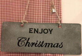 SCHILD ENJOY CHRISTMAS von Walther & Co.