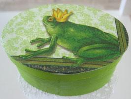 Froschkönig-Schachtel oval