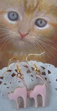 Kathen-Ohrringe Rosa