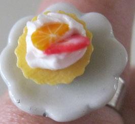 Frucht-Cupcake-Ring