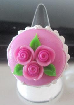 Rosa Torten-Ring