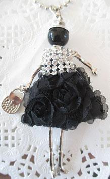 Valentina-Kette Ballkleid schwarz