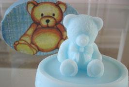 Seife blauer Bär in Schachtel