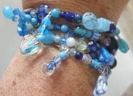 Armband blau/türkis