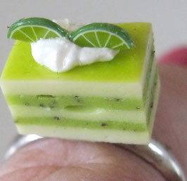 Limettenschnitten-Ring