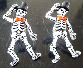 Skelett-Ohrstecker (2)