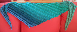 Tuch Grün-Blau