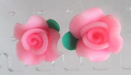 Rosenblüten-Ohrstecker