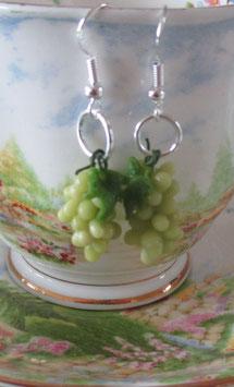 Weintrauben-Ohrringe