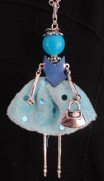 Kette mit blauer Valentina