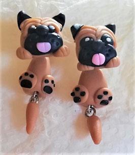 Hunde-Ohrstecker