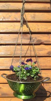 Sieb-Blumenampel