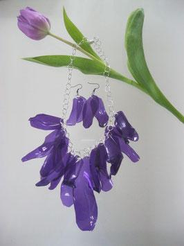 Bottle-Kette lila