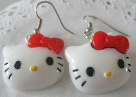 Hello Kitty-Ohrringe
