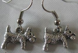 Süße kleine Hunde-Ohrringe