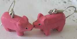 Schweinchen-Ohrringe