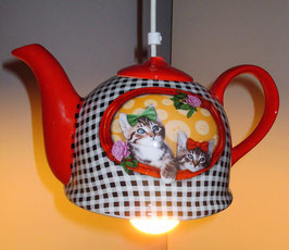 Katzen-Lampe
