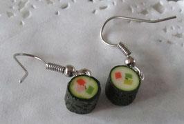 Sushi-Ohrringe
