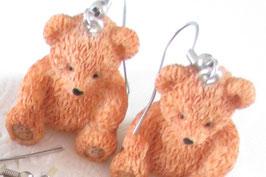 Bären-Ohrringe