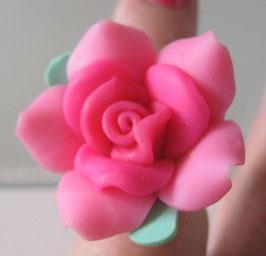 Rosa Blüten-Ring