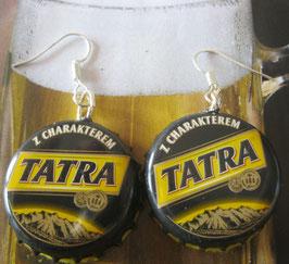 Bierkapsel-Ohrringe Tatra