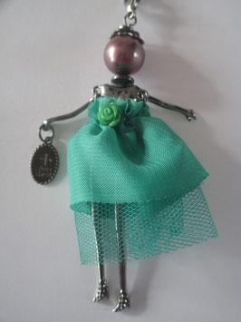 Valentina-Kette mit grünem Tüll-Kleid