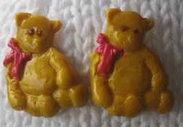 Bären-Ohrstecker