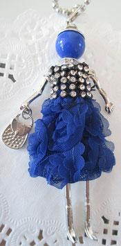 Valentina-Kette Ballkleid blau