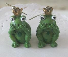 Froschkönig-Ohrringe