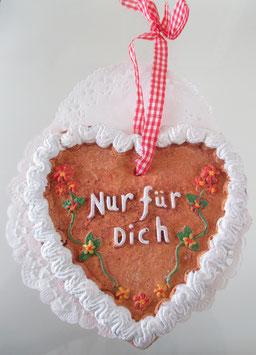 Deko-Lebkuchenherz