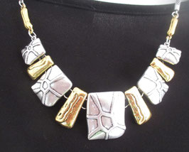 Metall-Kette Gold/Silber