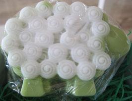 Grünes Seifen-Schaf