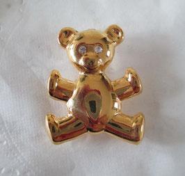 Bären-Brosche