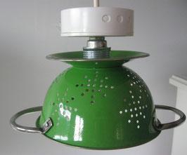 Küchensieb-Lampe grün