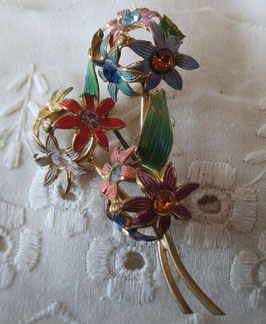 Blumen-Brosche