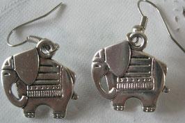 Elefanten-Ohrringe groß